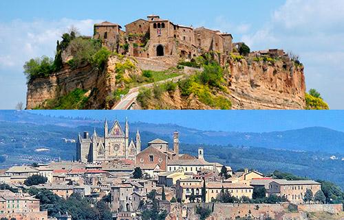 Prenota la gita da Roma a Civita di Bagnoregio e Orvieto