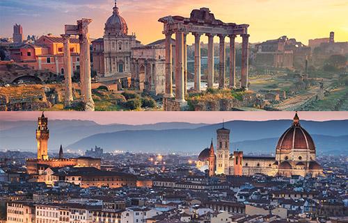 Prenota il transfer da Roma Centro a Firenze