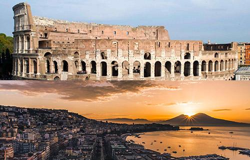 prenota il transfer da Roma a Napoli